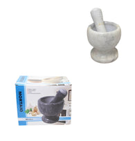 Pestle and Mortar Set Garlic Herb Spice Resin Mixing Grinding Crusher Bowl 14 x 12cm 6230