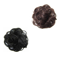 Curly Messy Bun Hair Piece Scrunchie Hair Bobble Scrunchie Fake Natural Hair 13cm 6237