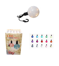 (M) Cotton Ball Ceiling Lamp Battery Operated String LED Indoor Hook Lamp Light 3 x AAA 6332