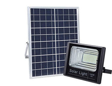 Load image into Gallery viewer, Solar Light Outdoors Solar Panel 100W Floodlight Motion Sensor LED 38cm x 50cm 6466 (Big Parcel Rate)