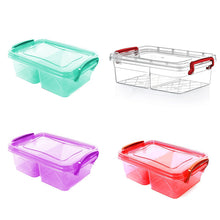 Load image into Gallery viewer, AIR TIGHT ASSORTED COLOUR MINI CONTAINER BOX  AK261 (Parcel Rate)