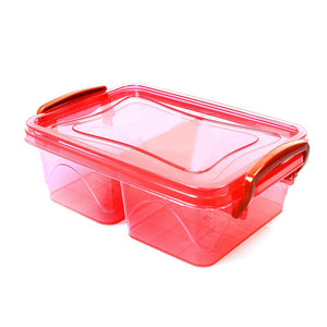 AIR TIGHT ASSORTED COLOUR MINI CONTAINER BOX  AK261 (Parcel Rate)