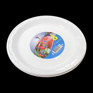 "Pack Of 8 Plastic Plates 10"" Parties Special Occasions 7026 (Parcel Rate)"