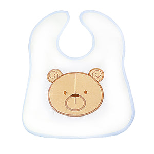 Bear Baby Bib Apron For Boys And Girls Toddlers  4982 (Large Letter Rate)