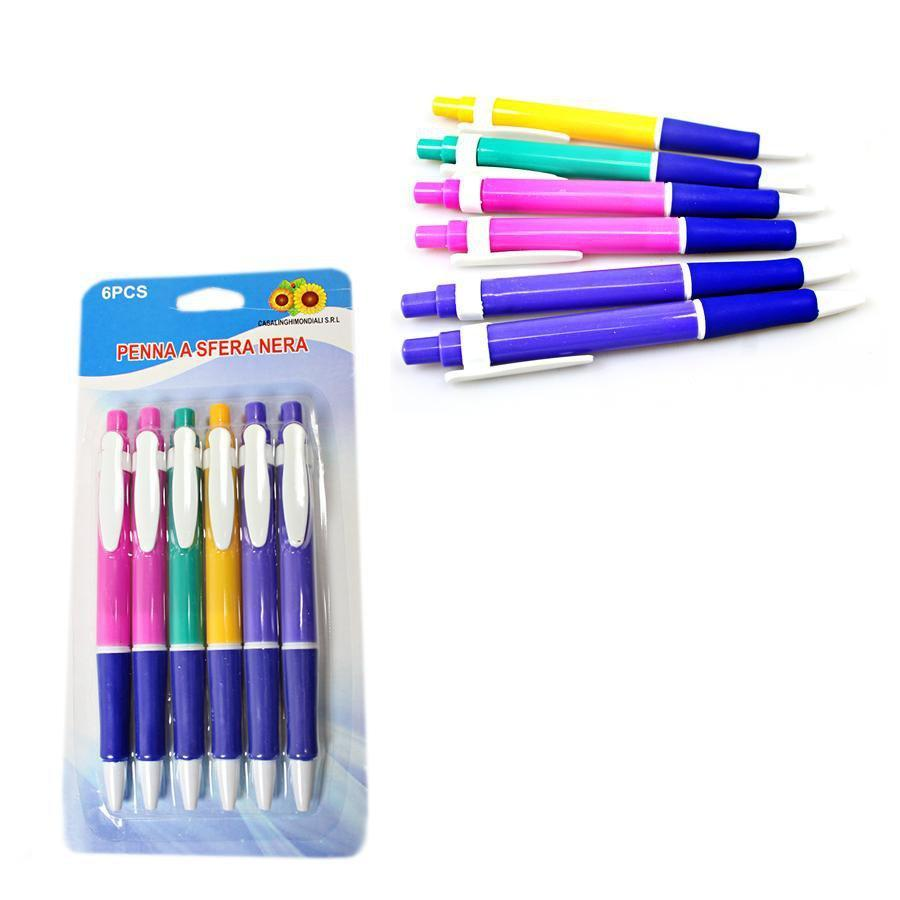 Ball Pen 6pc 3106 (Large Letter Rate)