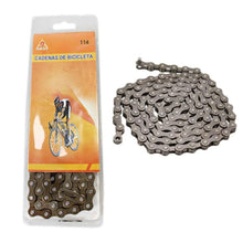Load image into Gallery viewer, Bicycle Chain Mountain Bike Outdoor Bike Chain DIY Bicyle Chain 114 (Parcel Rate)