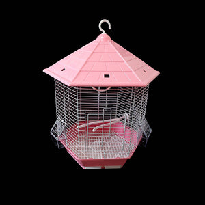 Small Bird Cages Budgie Finch Canary Indoor Bird Cage 26cm x 30cm 1006 (Parcel Rate)