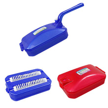 Load image into Gallery viewer, 2 Pack Dust Pan Brush Mobile Glider Plastic   4107 (Parcel Rate)