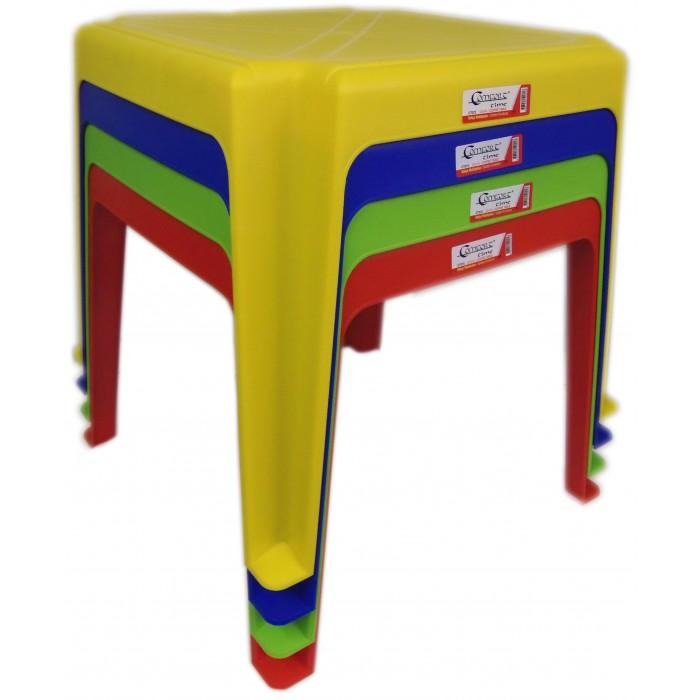 Indoor Outdoor Childrens Plastic Table Available In 4 Assorted  CT072 (Big Parcel Rate)