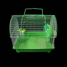 Load image into Gallery viewer, Indoor Small Pet Mouse Cage Plastic Cage With Handle 22cm x 17cm  0081 (Parcel Rate)