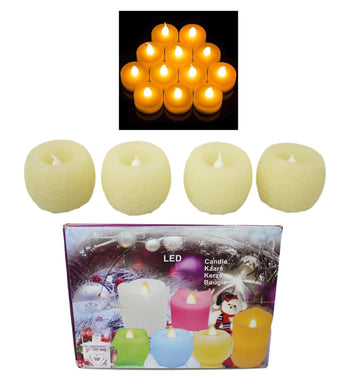 1 PCS  Flameless LED Candle Flickering Tea Light Battery Valentine Wedding Home 5406 (Parcel Rate)