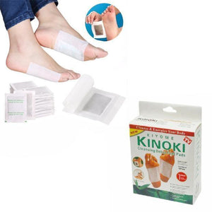 New Detox Cleanse KINOKI Foot Pads 10 Pads 4014 (Parcel Rate)