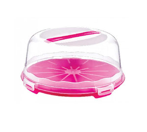 Dessert Pastry Cake Carrier With Clear Cover And Handle Special Occasions 30cm D30306 (Parcel Rate)