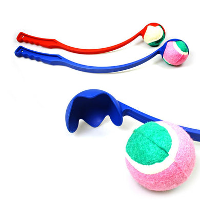 Dog Tennis Ball Chucker Launcher Thrower Pet Puppy Training Exercise Outdoor Toy 2511 (Parcel Rate)