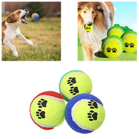 Pets Cats Dog Fetch Ball Training Teething Ball 3916
