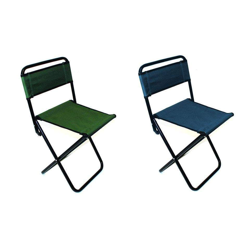 x 1 Folding Camping Fishing Chair Festival Garden Foldable Fold Up Seat Deck 2623 (Parcel Rate)