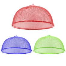 Load image into Gallery viewer, High Quality Plastic Mesh Dome Food Cover Assorted Colours 30cm 5014 (Parcel Rate)