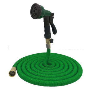 75 FT Heavy Duty Magic Expanding Flexible Expandable Garden Water Hose Pipe Spray Gun 4692 (Parcel Rate)