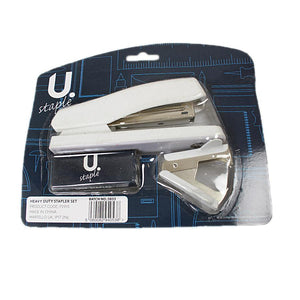 Heavy Duty Stationery Stapler With Staples Included Students Stapler Set P2915 (Parcel Rate)