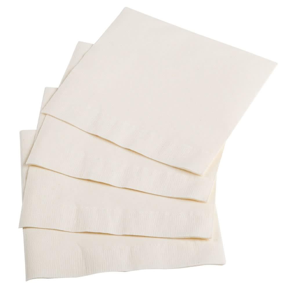 100 Pack Tableware Soft Party Paper Napkins Ivory 30cm x 30cm 30VA100 (Parcel Rate)
