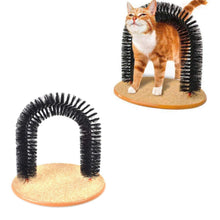 Load image into Gallery viewer, Kitty Arch Cat Groomer Scratcher Cleaner Fun Cat Self Groomer 3695 (Parcel Rate)