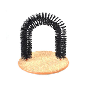 Kitty Arch Cat Groomer Scratcher Cleaner Fun Cat Self Groomer 3695 (Parcel Rate)
