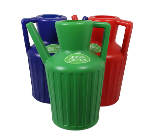 Plastic Watering Can Tooti Lota Assorted Colour Green Red