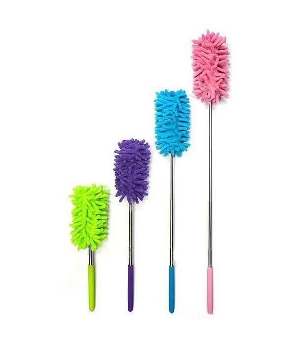 Extendable Telescopic Microfibre Cleaning Duster Feather Style Extending Brush Home 4534 (Parcel Rate)