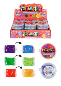 Kids Colour Changing Squeezing Putty Jokes And Pranks 7 x 5cm N14305 (Parcel Rate)