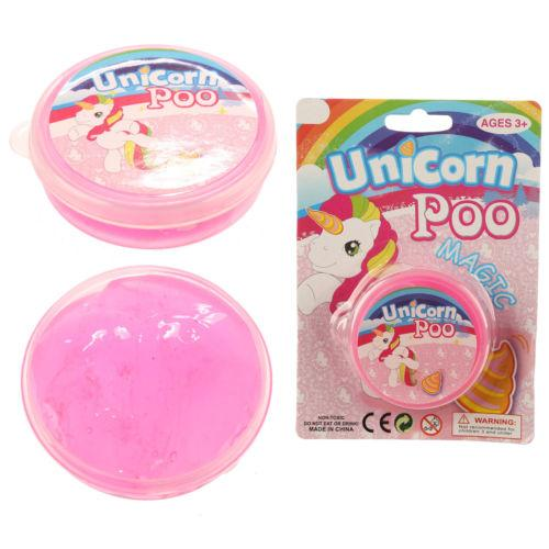 Unicorn Poo Putty Magic Slime Magical Fun Kids 7 x 2cm N14312 (Parcel Rate)