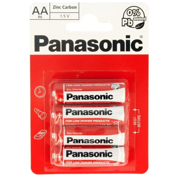 Panasonic Zinc Carbon Ultra Power AA (R6 1.5v) Batteries 4 Pack 3283 (Large Letter Rate)