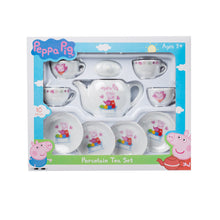 Load image into Gallery viewer, Peppa Pig Porcelain Tea Set Childrens Kids Role Play 24621 (Parcel Rate)