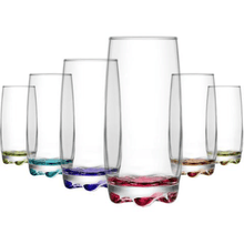 Load image into Gallery viewer, Set Of 6 CORAL ADORA 390cc- 13 1/4oz Glasses ADR25PT06 (Parcel Rate)