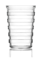 Load image into Gallery viewer, 6 Pack LAV Stripe 200cc -6 3/4oz Glasses STR613E (Parcel Rate)
