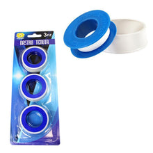 Load image into Gallery viewer, 3 Pack DIY PTFE Plumbing Pipe Tape Seal White 5160 (Parcel Rate)