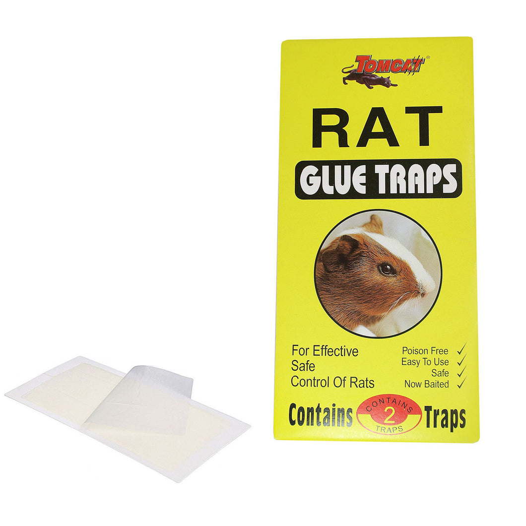 Effective RAT Glue Traps Safe Use Poison Free Easy Use Sticky Traps x 2 2546 (Large Letter Rate)