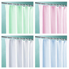 Load image into Gallery viewer, High Quality PEVA Shower Curtains Assorted Colours Size 180cm x 200cm  4084 (Parcel Rate)