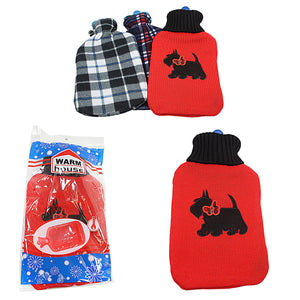 Soft Warm Hot Water Bottle & Cover Home 1723 (Parcel Rate)