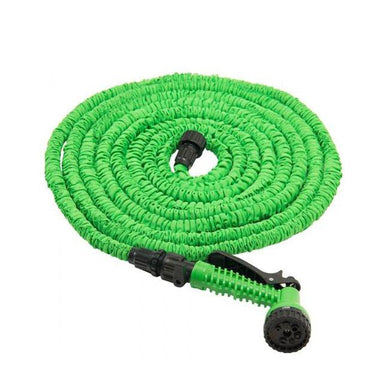 100ft Magic Hose Pipe Expanding Expandable Flexible Garden Car Spray Gun 3691 (Parcel Rate)