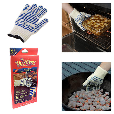 The ' Ove' Glove Heavy Duty Oven Glove Non- Slip Silicone Grip Washable   4403 (Parcel Rate)