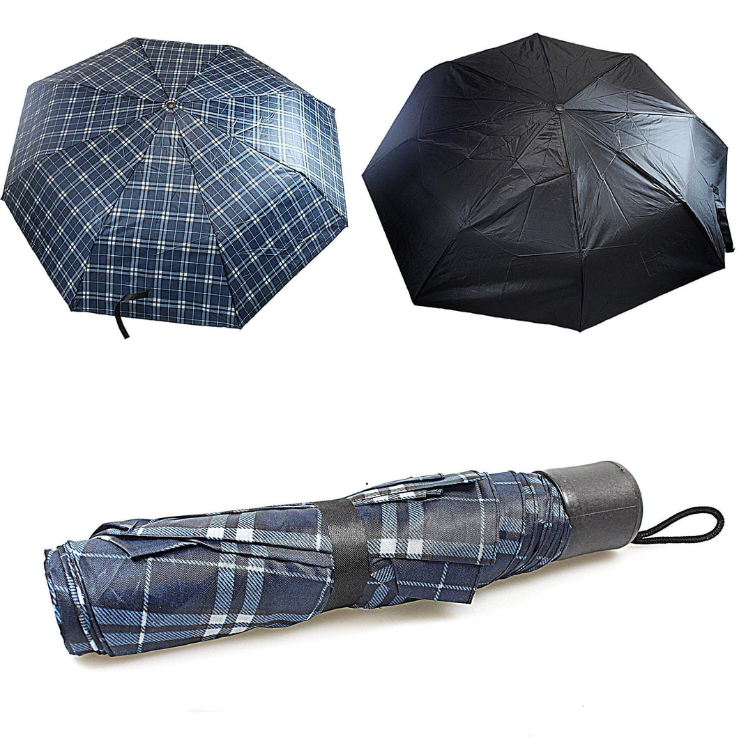 Universal Standard Handbag Size Brolly Umbrella 0893 (Parcel Rate)