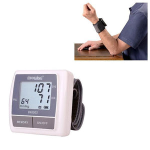 Wrist Digital Blood Pressure Monitor 4467 (Parcel Rate)