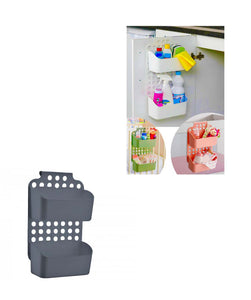 Adjustable Hanging Multi Purpose Bedroom Kitchen Bathroom Shower Caddy Organiser Assorted Colours x 1 D09167 (Parcel Rate)