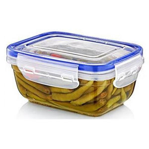 Clear Plastic Quality Air Tight Containers Tubs With Lids Microwave Safe 2300ML D30114 (Parcel Rate)