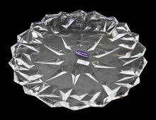 Load image into Gallery viewer, Crystal Cut Serving Glass Aesthetic Durable Party Wedding Serving Gift Glass Tray 33cm DL006 (Parcel Rate)