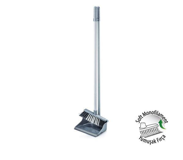 Economic Dustpan And Brush Household Use Kitchen Cleaning Assorted Colours ZP139 (Big Rate)
