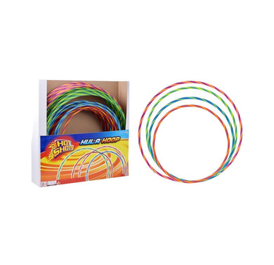 Rainbow Fun Childrens Hula Hoop 4 Assorted Sizes 51cm  57cm  67cm  71cm 1373773 (Parcel Rate)