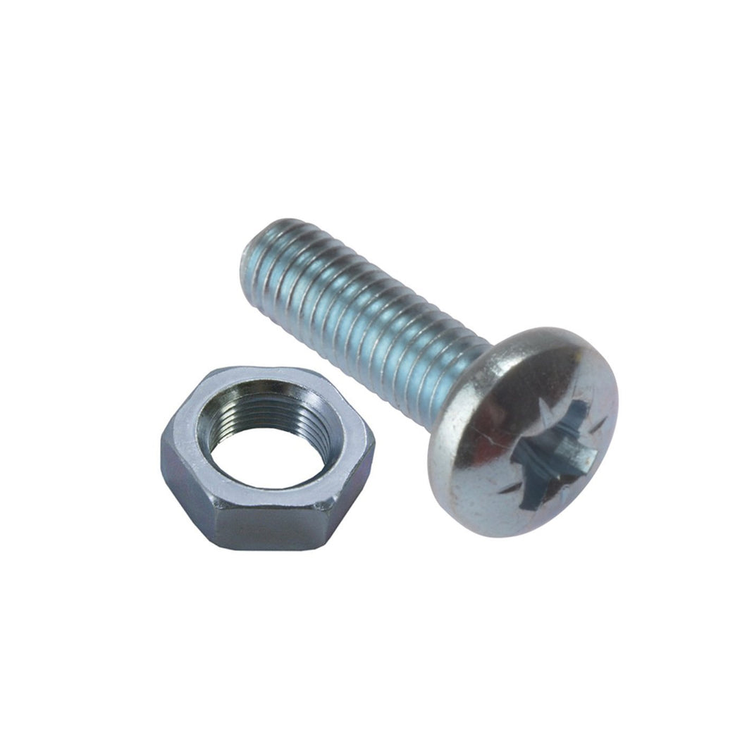 m4 x 20 Pozi Pan M/Screws & Nuts Diy 0406 (Large Letter Rate)