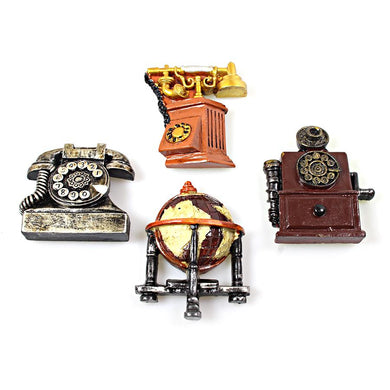 1 Pack Retro Vintage Style Magnets Telephones Design 2105 (Large Letter Rate)