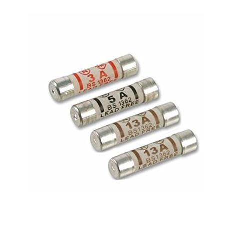 Mixed Fuses (2 x 13Amp - 1 x 5Amp - 1 x 3Amp) 0653 (Large Letter Rate)